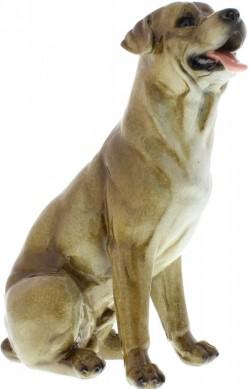 Picture of Labrador Dog Figurine (Juliana) Medium Stone Effect