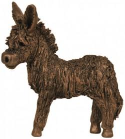Picture of Donkey Foal Bronze Figurine (Veronica Ballan)