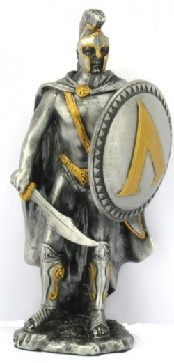 Picture of Spartan Warrior Pewter Figurine