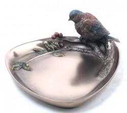 Picture of Bird Display Plate Bronze