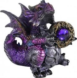 Picture of Amethyst Dragonling Figurine (Alator) 13cm