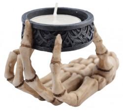 Picture of Skeleton Hand Tea Light Holder