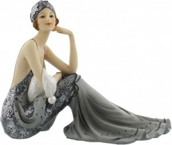Picture of Juliana Broadway Belles Midnight Shimmer Lady Suzie Figurine 20cm Long