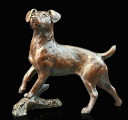 Picture of Jack Russell Bronze Figurine (Limited Edition) Michael Simpson