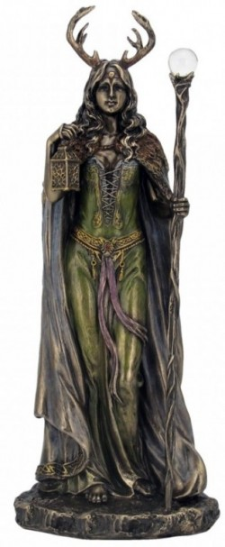 Picture of Keeper of The Forest Figurine 28 cm Wiccan Lady