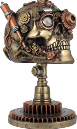 Picture of Bionic Ocular Receiver Skull Bronze Figurine