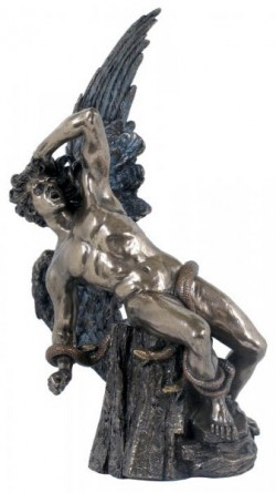 Picture of Fallen Lucifer Bronze Figurine