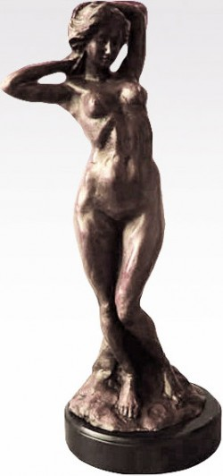 Picture of Bronze Nude Lady Sculpture