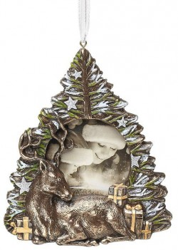 Picture of Christmas Tree Small Bronze Frame