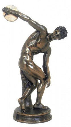 Picture of The Discobolus of Myron Bronze Figurine