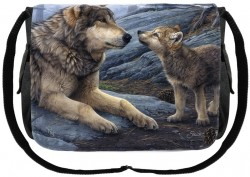 Picture of Brother Wolf Messenger Bag (Daniel Smith)