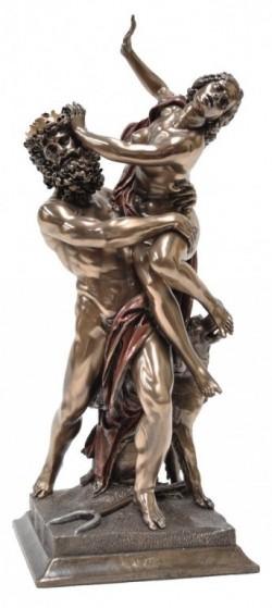 Picture of Rape of Proserpina by Bernini Bronze Figurine 35 cm Hades