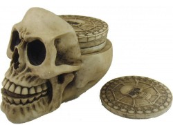 Picture of Resting Place Skull Coaster Set