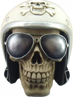 Picture of The Enforcer Skull Ornament New