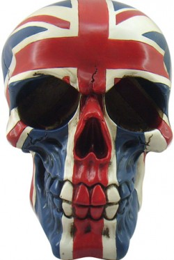 Picture of Union Skull Ornament New