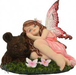 Picture of Sleeping Softly Fairy Figurine 14cm