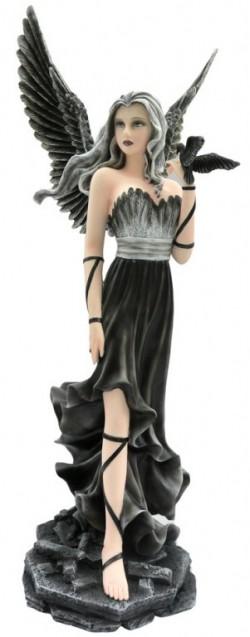 Picture of Andras Dark Seeker Angel Figurine 60cm LARGE