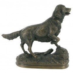 Picture of Golden Retriever Bronze Figurine