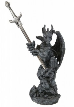 Picture of Dragon Letter Opener Holder Ornament