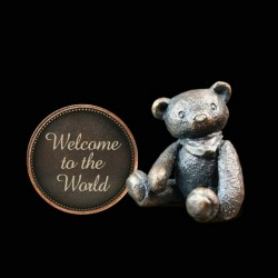 Picture of Penny Bear Welcome To The World Michael Simpson