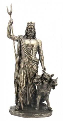 Picture of Hades Greek God of the Underworld Figurine 33cm
