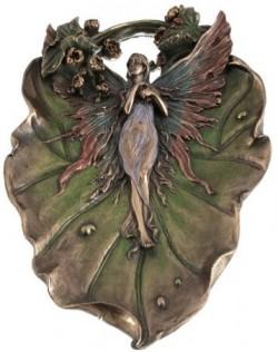 Picture of Fairy Decorative Plate Bronze
