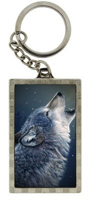 Picture of Howling Wolf 3D Keyring (Daniel Smith)