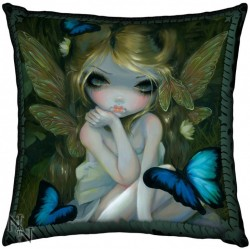 Picture of Lily Cushion (Jasmine Becket-Griffith) 42cm