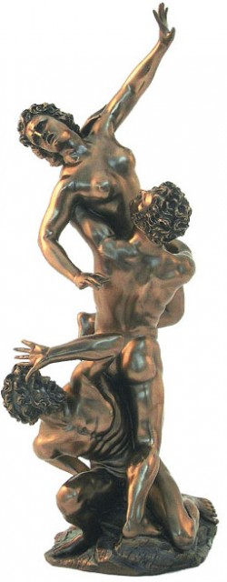 Picture of Abduction of the Sabine Women Bronze Figurine 39 cm