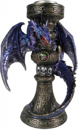 Picture of Flame of the Dragon Tealight Holder