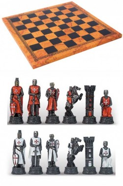 Picture of Knights Chess Set