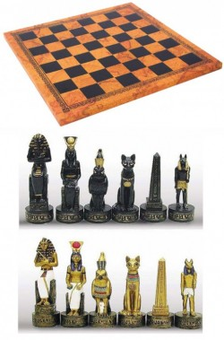 Picture of Egyptian Chess Set