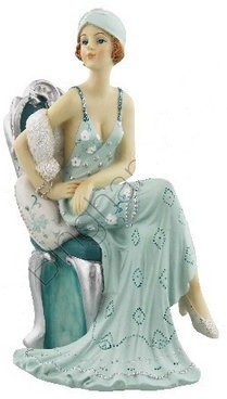 Picture of Juliana Broadway Belles Sitting on Chair Lady Figurine