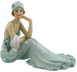Picture of Juliana Broadway Belles Sitting Lady Figurine