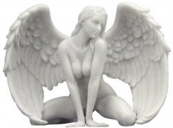 Picture of Passionate Angel Marble Effect Figurine