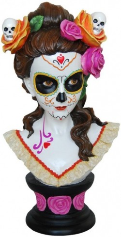 Picture of Gothic Beauty Bust Catrina Figurine 40 cm