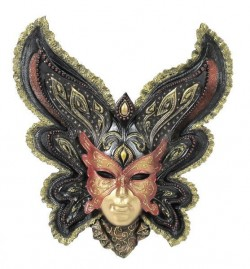 Picture of Butterfly Mask Wall Decor (Genesis Fine Arts)
