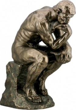 Picture of The Thinker Bronze Figure LARGER 48 cm (Auguste Rodin)