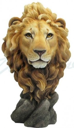 Picture of Lion Bust Figurine 32 cm