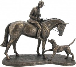 Picture of Country Companions Hunter and Hound Figurine (Harriet Glen)