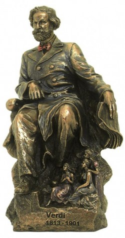 Picture of Giuseppe Verdi Bronze Figurine