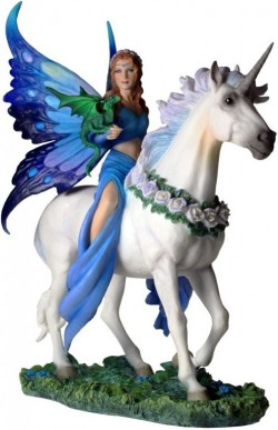 Picture of Realm Of Enchantment Unicorn Figurine (Anne Stokes)