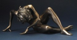 Picture of Awakening Nude Female Bronze Figurine