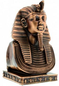 Picture of Egyptian Tutankhaman Bust Figurine Heavyweight (Juliana)