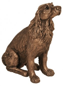 Picture of Winston Springer Spaniel Dog Sculpture
