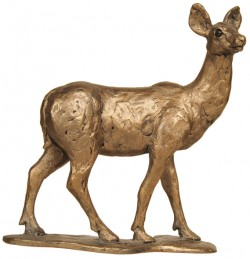 Picture of Red Deer Hind Sculpture (Thomas Meadows)