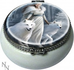Picture of Winter Guardians Small Trinket Box (Anne Stokes) 5.5cm