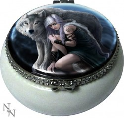 Picture of Protector Trinket Box (Anne Stokes) 5.5cm