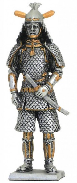 Picture of Samurai Guard Pewter Figurine NEW