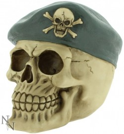 Picture of Sergeant Major Skull Money Box 14cm